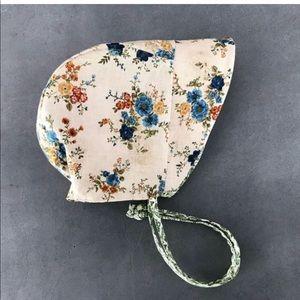 jack and judith Matching Sets - Handmade boho bonnet and romper set size 6-12 mo